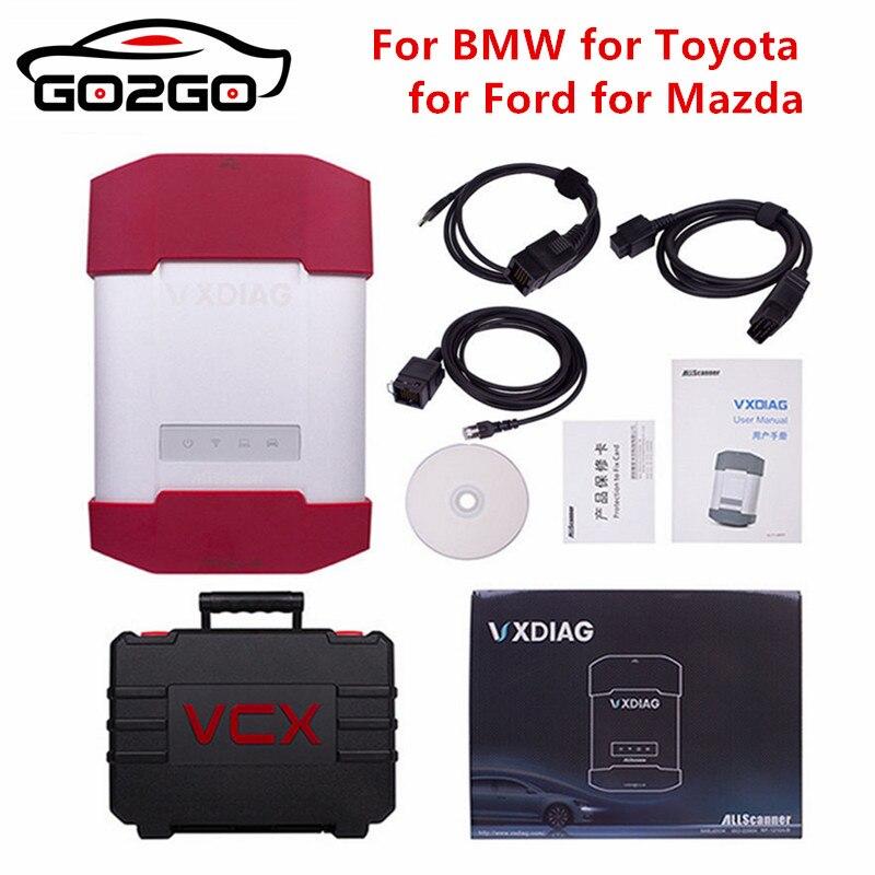 Ho tNew VXDIAG A3 3 в 1 инструмент диагностики Поддержка для BMW для Toyota для Ford и Mazda для идеально замена ICOM NEXT