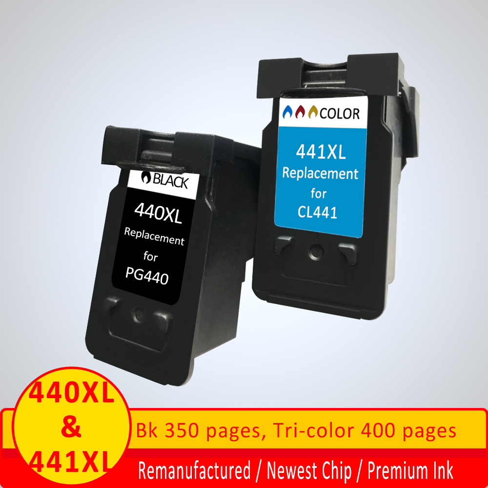 XiangYu PG440 CL441 <font><b>XL</b></font> ink cartridge replacement for <font><b>Canon</b></font> PG <font><b>440</b></font> CL 441 for PIXMA MG2180 / 3180 / 4180 /MG4280 / MX438 image