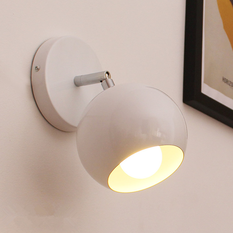 modern globe wall lamps bedroom wall lights kitchen wall sconces abajur luminaria bathroom light fixtures indoor - Wall Lamps For Bedroom