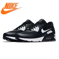 Original Authentic Nike AIR MAX 90 Men's Running Shoes Classic Black Outdoor Sports Sneakers Comfortable 2019 New 875695 008