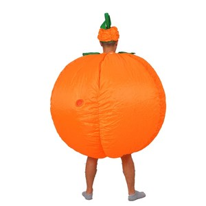 Image 5 - Halloween Adult Funny Party Cosplay Pumpkin Costume Halloween Inflatable Pumpkin Costume For Women Men Halloween Party Supplies