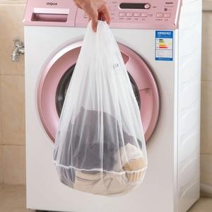 Image 5 - 3 Size Mesh Laundry Bag Socks Underwear Washing Machine ClothesClothing Foldable Filter Underwear Bra Washing Laundry bag