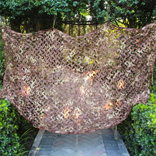 2.5X4 1.5X3 2X6 4X4M Desert Hunting Camping Camouflage Net Car Drop Netting Camo Netting For Military Photography Sun Shelter