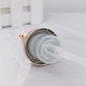 Image 3 - 10 adet 30 60ml plastik köpük pompa şişesi boş yüz Lashes temizleyici kozmetik şişe sabunluk köpük şişesi gül altın köpük