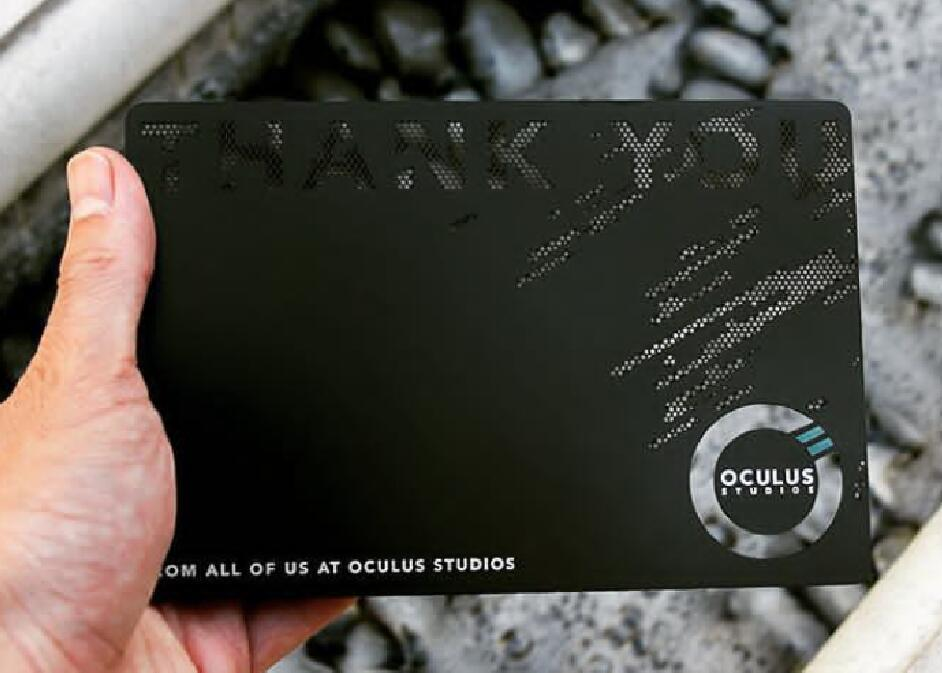 Factory wholesale high quality customized logo metal business card/Customized Stainless Steel Black Metal Business Card