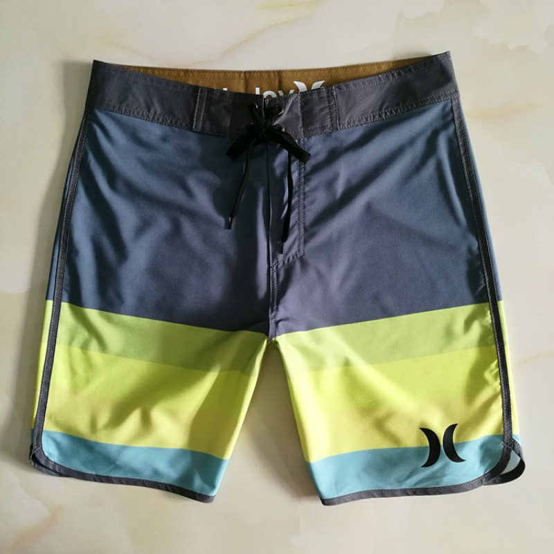 Mens New Spandex Board   Shorts   2019 Summer Sports Brand Boardshorts Quick Dry Beach Surfing Fitness Gym Pool   Shorts