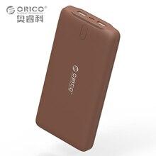 ORICO 20000 mAh Power Bank Batterie Externe Portable Chargeur Double USB Powerbank 20000 mAh Pour iPhone Samsung MacBook