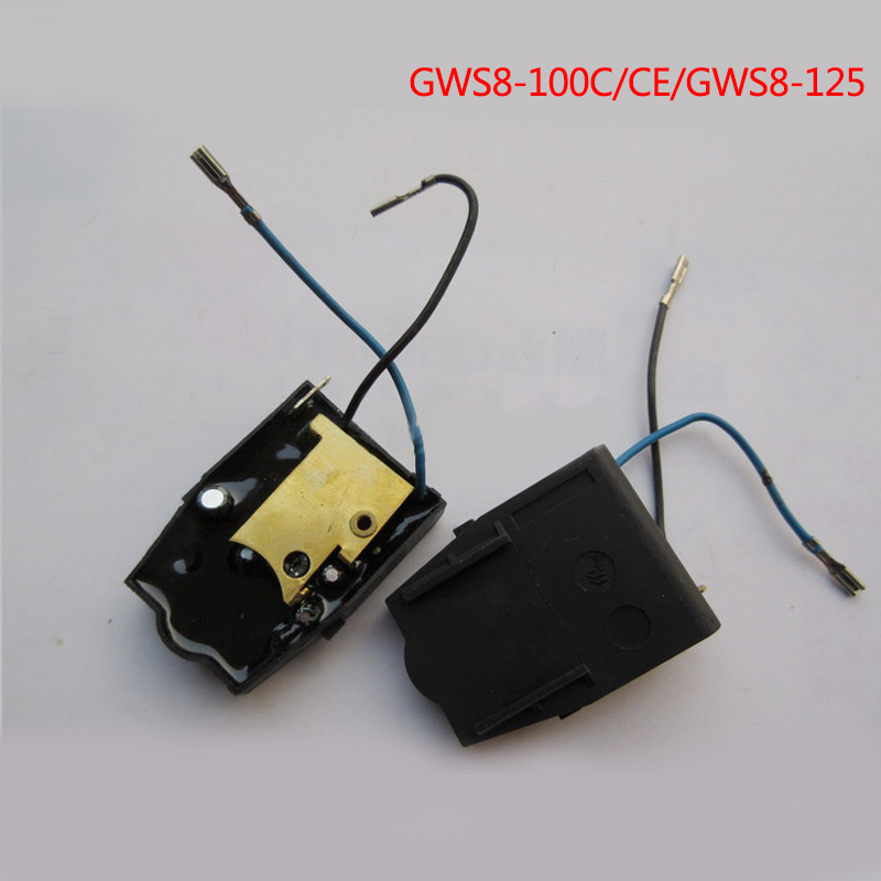 цена на Free shipping! Angle grinder soft start switch of electric tools accessories for Bosch GWS8-100C/CE/GWS8-125,High-quality!