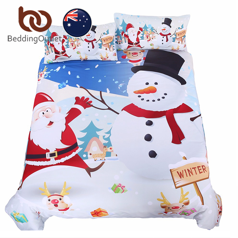 popular snowman comforter set-buy cheap snowman comforter set lots