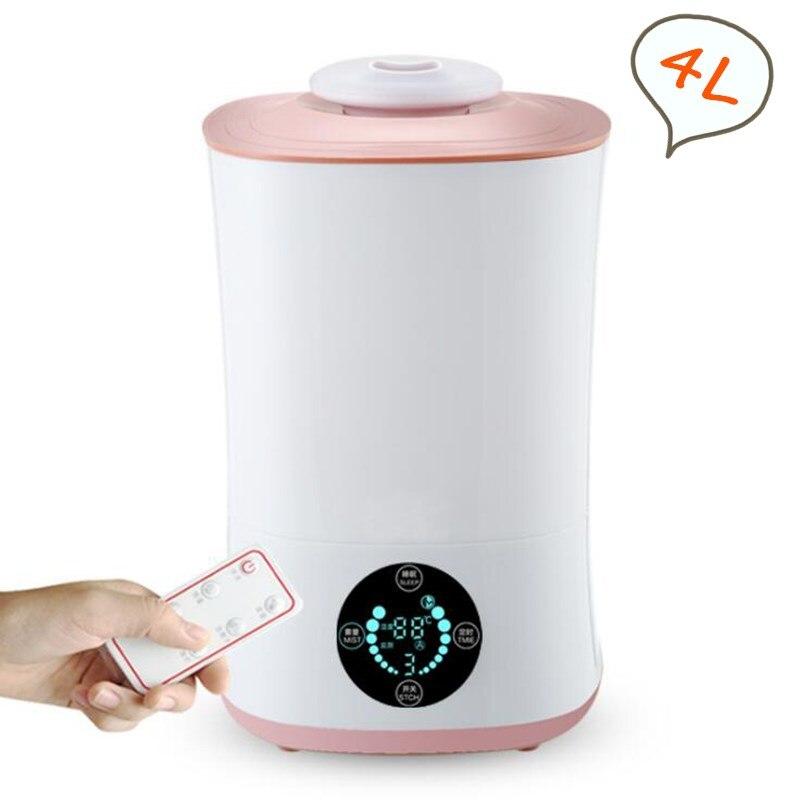 GXZ 4000 ml Controle Remoto Tela LCD Inteligente Umidificador de Ar Ultra Aroma Difusor Névoa Criador Fogger 30 W Cronometrando Ar purificador
