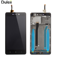 Dulcii For Xiaomi Redmi 3s OEM LCD Screen And Digitizer Assembly Frame Part For Xiaomi Redmi