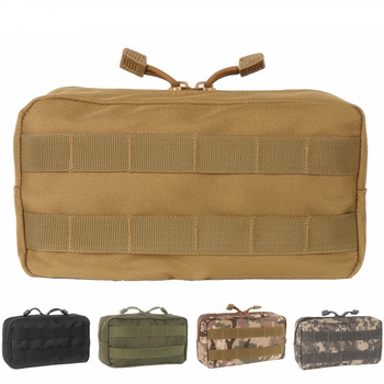 CQC Tactical Molle Medical Belt Pouch EDC Sundries Military Hunting First Aid Bag Magazine Drop Waist Pack Outdoor Storage Bags new tactical military hunting small utility pouch pack army molle cover scheme field sundries bags outdoor sports mess briefcase