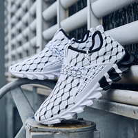 Sneakers Men Casual Shoes Male Summer Running Shoes Men Trainers Outdoor Walking Sneakers Designer Big Size 11 12 13 Black