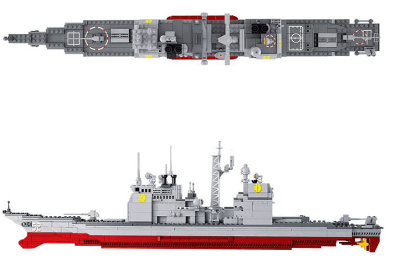 model building kits compatible with lego Military Series Army Warship 3D blocks Educational building toys hobbies for children lepin 02012 city deepwater exploration vessel 60095 building blocks policeman toys children compatible with lego gift kid sets