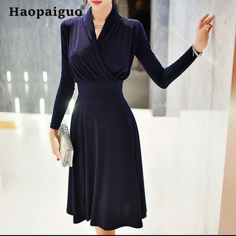 Large Size Navy Blue Gold Velvet Dress Winter for Women Corset Big Swing Casual Women Dress