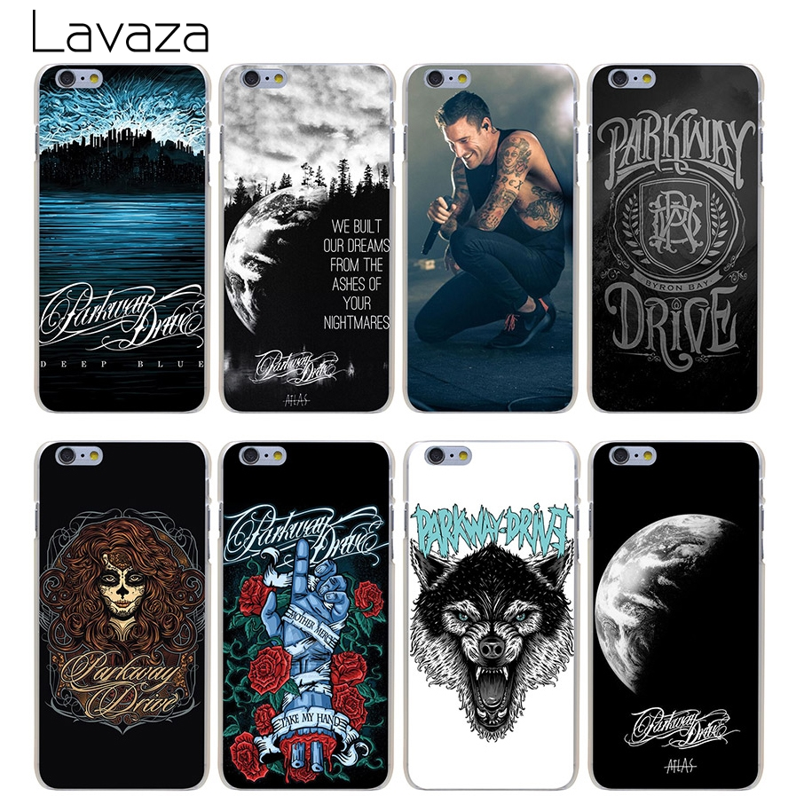Parkway Drive Hard Transparent Cover Case for iPhone 7 7 Plus 6 6S Plus 5 5S SE 5C 4 4S