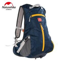 Naturehike wodoodporne rowerowe plecaki górskie ultralekka torba podróżna z czapką na kask rowerowy kieszeń 5 kolorów z nylonu 15L