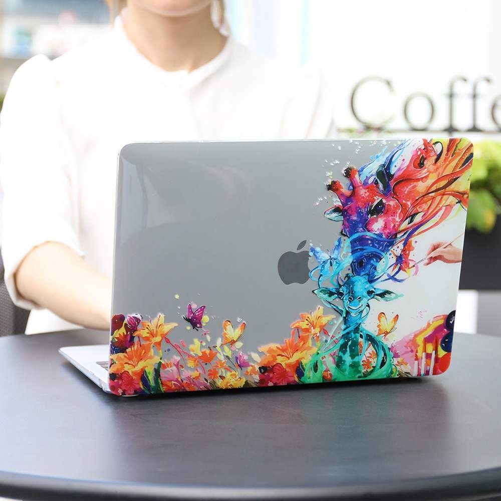 Floral Printing Hard Case for MacBook 99