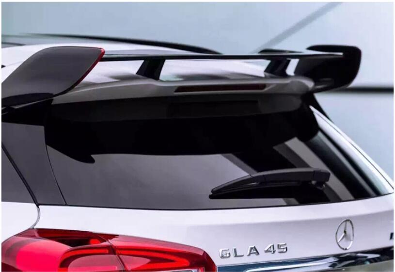 Becquet noir de lèvre de coffre d'aile arrière de voiture de peinture d'abs pour Benz GLA classe X156 GLA45 AMG GLA200 GLA220 GLA250 GLA260 2014-2018