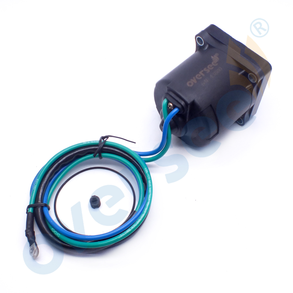 68V 43880 00 NEW TILT TRIM MOTOR For Yamaha Outboard Motor 150 220 HP 68V 43880|Personal Watercraft Parts & Accessories| |  - title=