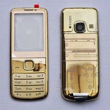 Для Nokia 6700 металлический корпус передняя рамка+ задняя крышка+ английская/Русская клавиатура