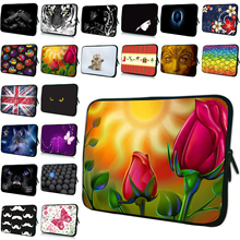 "Beautiful Fashionable Woman Bag Computer Sleeve Bag 15"" 12"" 13 14 17"" 10"" Protective Laptop Cases Waiting for the open red roses"