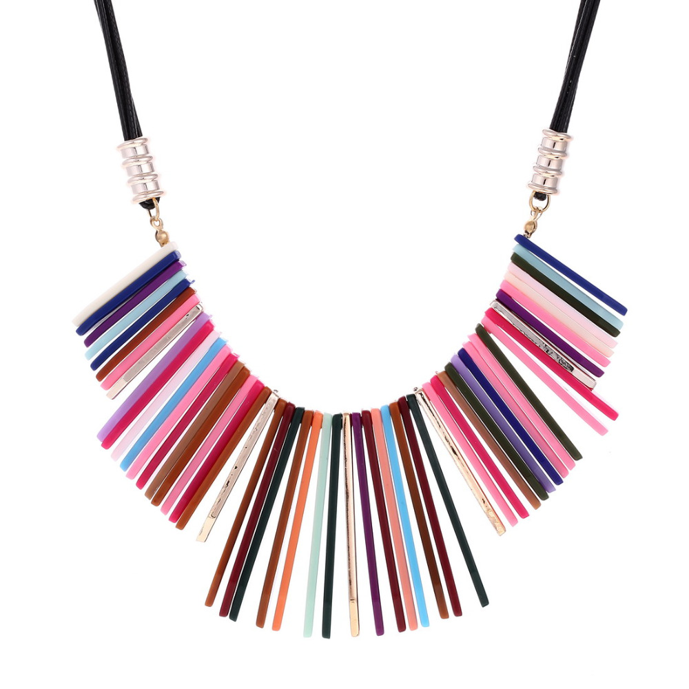 aliexpress buy colorful acrylic choker necklace