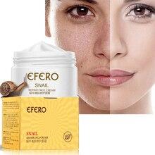 efero Snail Cream Face Whitening Moisturizing Serum Care Anti Wrinkle for Lifting Acne Treatment