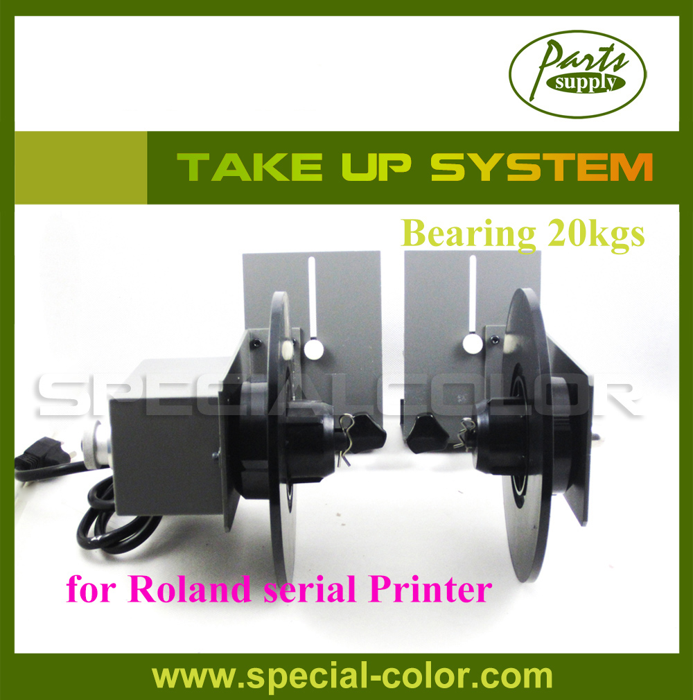 Automatical Paper Collector (Take-up system) use for roland printer bearing 20kg roland vs640 take up system roland printer paper auto take up reel system for roland vs640 printer