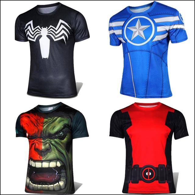 Super Heróis t Homem De Ferro Homem Aranha Lanterna Verde A Loki Thor Capitão América Black Widow Hawkeye Vingadores Hulk T camisa