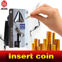 Room Escape Game Prop Jxkj1987 Coin Selector Drop Coins Into Slot Machine To Escape From Chamber