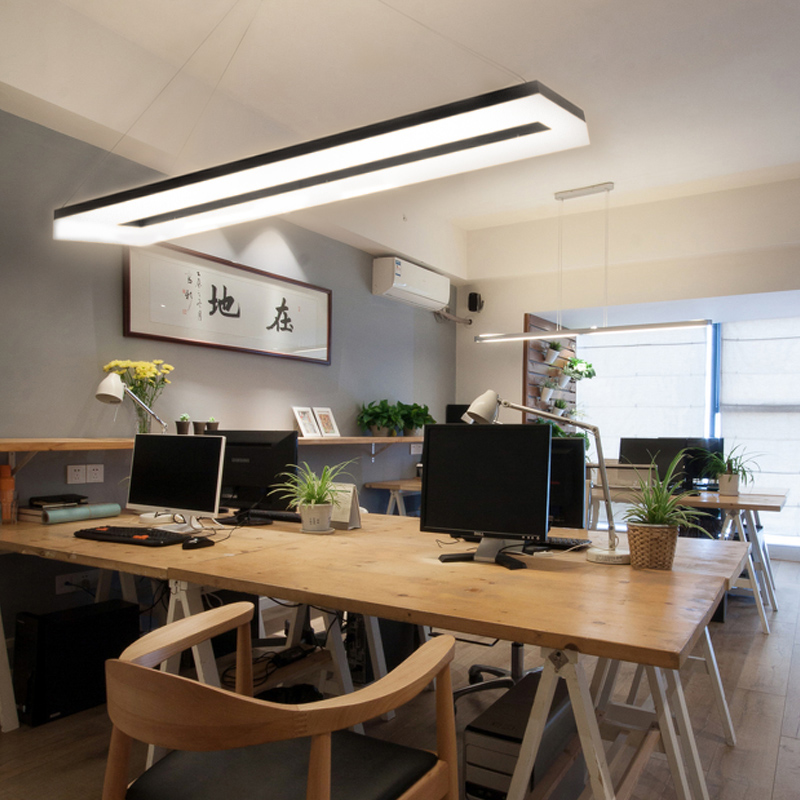Creative Led Work Office Chandelier Nordic Style