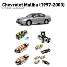 Led interior lights For Chevrolet malibu 1997-2003 10pc Led Lights For Cars lighting kit automotive bulbs Canbus Error Free все цены