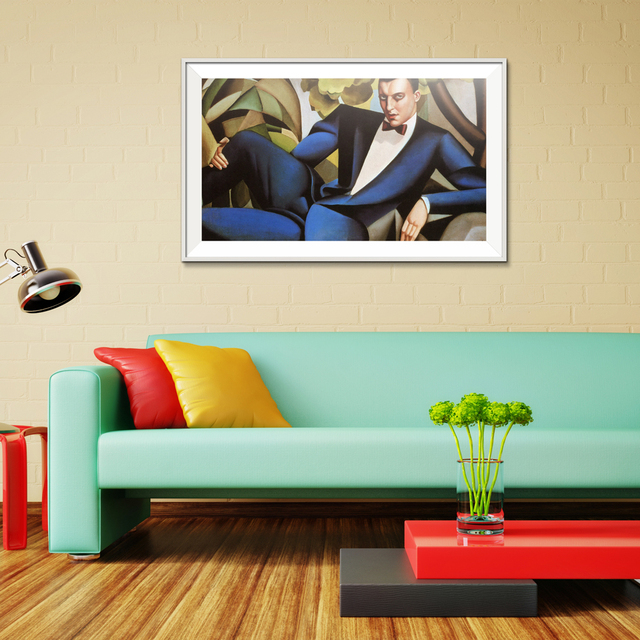 Us 4 52 Tamara De Lempicka Figure Painting Abstract Print Oil Painting Spray Frameless Unframed Canvas On The Wall Hologram Picture In Painting