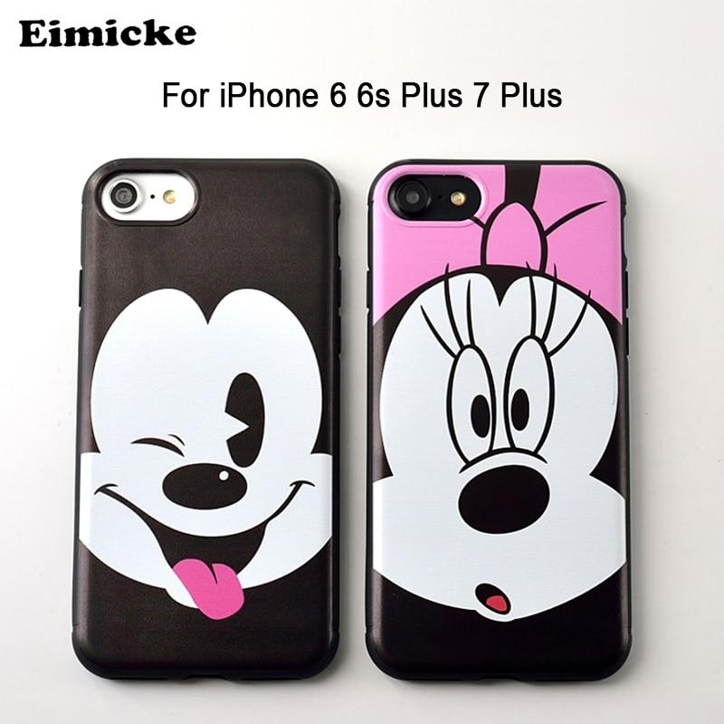 cover iphone 6 silicone morbido 3d disney