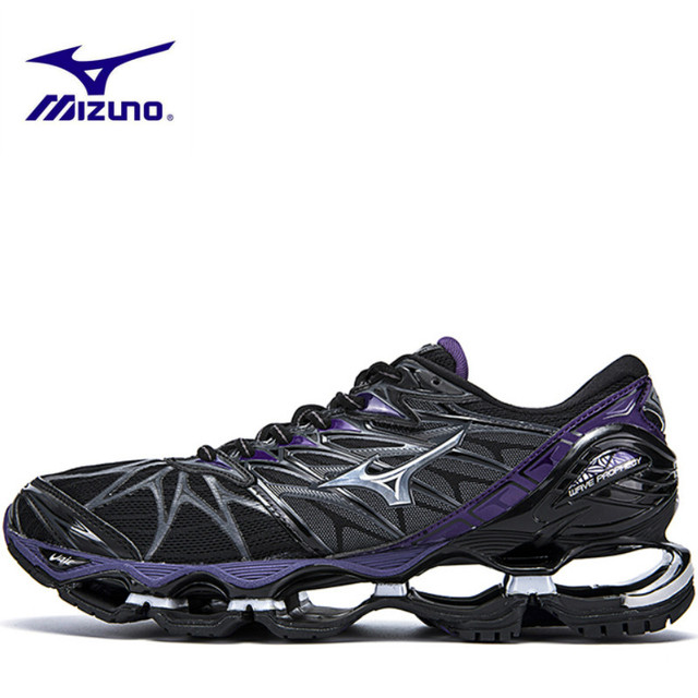 wholesale dealer c0c66 80a71 Mizuno Wave Prophecy 7 Women Purple Shoes sports Breathable 2 Colors Sports  sneakers Weightlifting Shoes air cushion Size 36-41