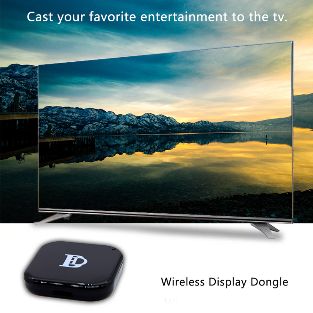 YIKIXI NEW X7 2 4Ghz Wireless DisplayTV stick for Dongle1080P Full HD WiFi  TV Stick Support Netflix YouTube AirPlay Miracast