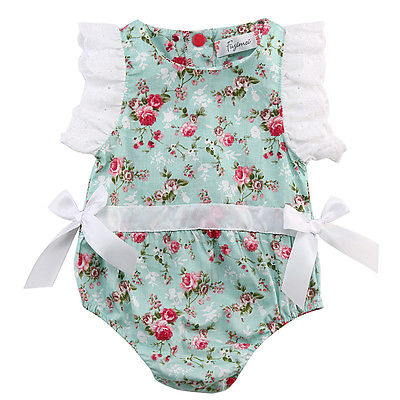 Newborn-Baby-Girl-Lace-Floral-Romper-Jumpsuit-Outfits-One-pieces-0-24M-NEW-Fashion-5