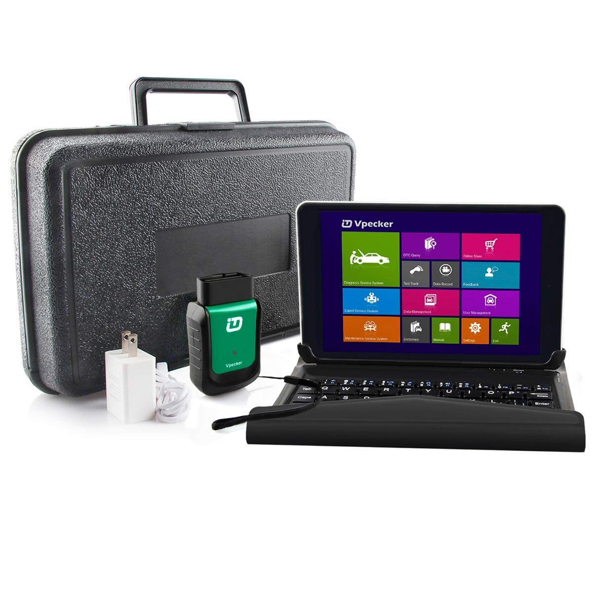 2019 Vpecker Easydiag OBD2 Автосканер V11.1 wifi Автомобильный сканер + 8 в Windows 10 планшет ODB 2 OBD Автомобильный диагностический сканер