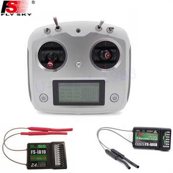 Flysky FS-I6S 10ch 2.4G AFHDS 2A RC Transmitter Control w/ FS-iA6B FS-iA10B Receiver For RC Helicopter VS FS-i6 - DISCOUNT ITEM  9% OFF All Category