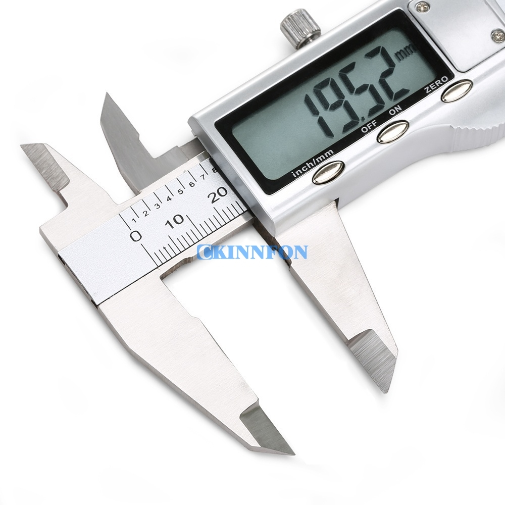 "Digital Vernier Caliper Micrometer Tool 6/"" 150mm Electronic LCD Display Caliper"