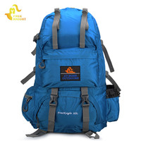 Free Knight Brand 50L Outdoor Backpack Hiking Bag Camping Travel Water Resistant Pack Mountaineering Hiking Bag