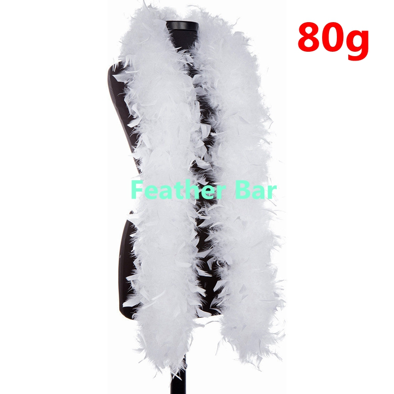 Black American Feathers 80 Gram Chandelle Boas