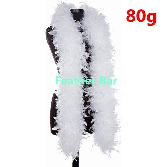 10pcs lot white turkey feather boa turkey feather strip 40g 60g 80g10pcs lot white turkey feather boa turkey feather strip 40g 60g 80g fluffy craft decoration chandelle feather boa marabou boa