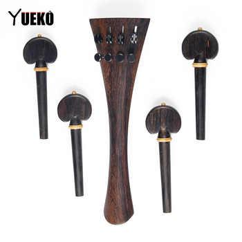 YUEKO BlackRosewood string string shaft / string button cello accessories - DISCOUNT ITEM  36% OFF Sports & Entertainment