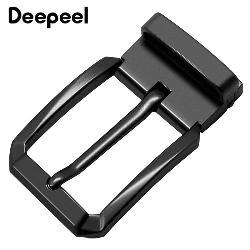 Deepeel 1Pc Business Men Belt Buckles Brushed Metal Pin Buckles For Belt 33-34mm DIY Leather Craft  Jeans Accessories YK124