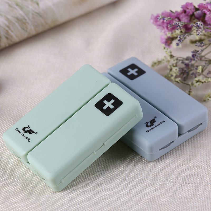 Plastic Pill Box Organizer For 7 Days Weekly Medicine Pills Storage Candy Magnetic Force Box Splitters Organizador Portable