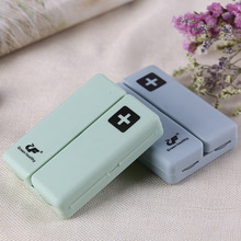 Plastic Pill Box Organizer For 7 Days Weekly Medicine Pills Storage Candy Magnetic Force Box Splitters