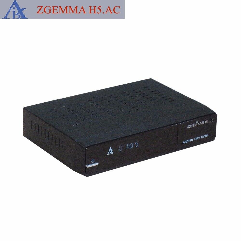 5 pcs/lot Enigma2 Linux DVB S2 + ATSC H.265 North American tv box Zgemma H5.AC 1080p mobile dvb t2 car digital tv receiver real 2 antenna speed up to 160 180km h dvb t2 car tv tuner mpeg4 sd hd