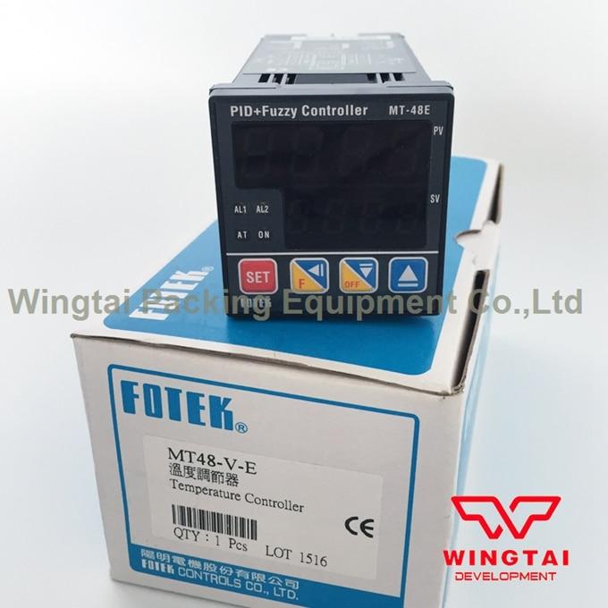 Original 100% MT48-V-E Universal Intelligent PID Temperature Controller,MT-48E Fotek Temperature Control Device mt48 v fotek temperature controller new